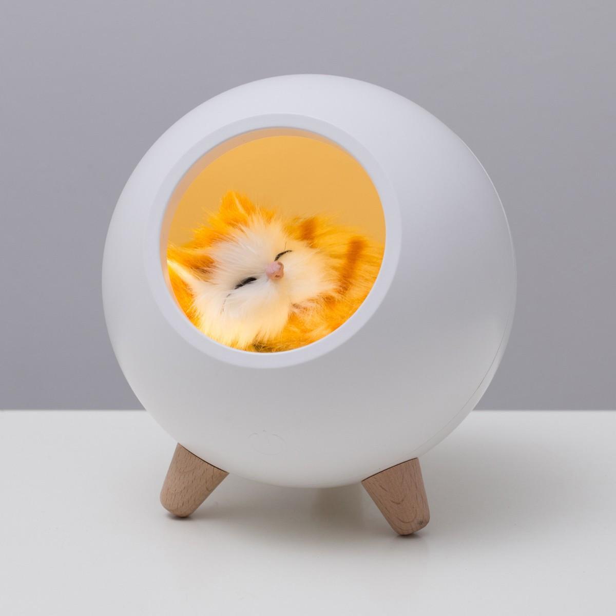 """Ночник """"Домик для котёнка"""" - фото 1"""