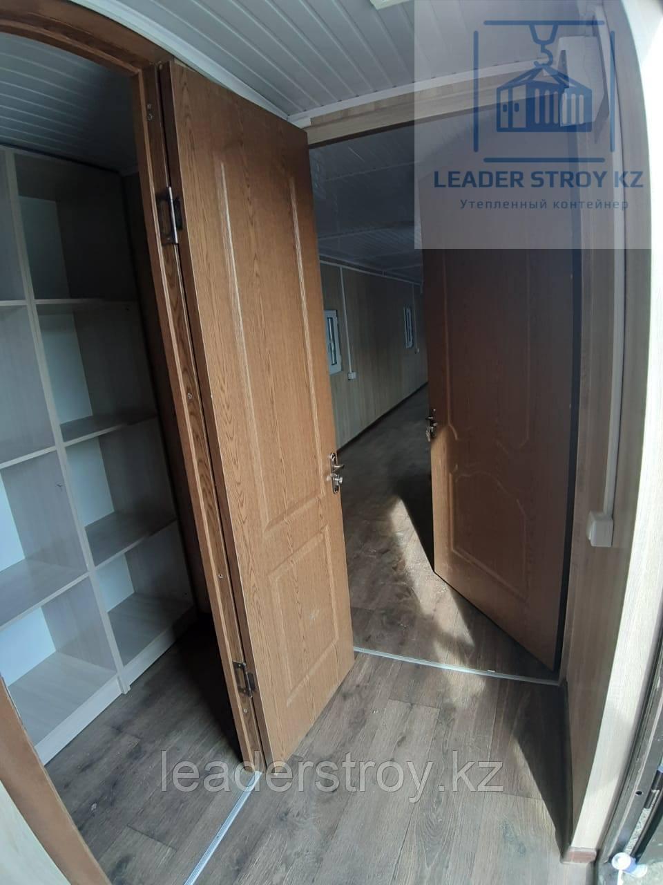 Модульный контейнер под офис из контейнеров