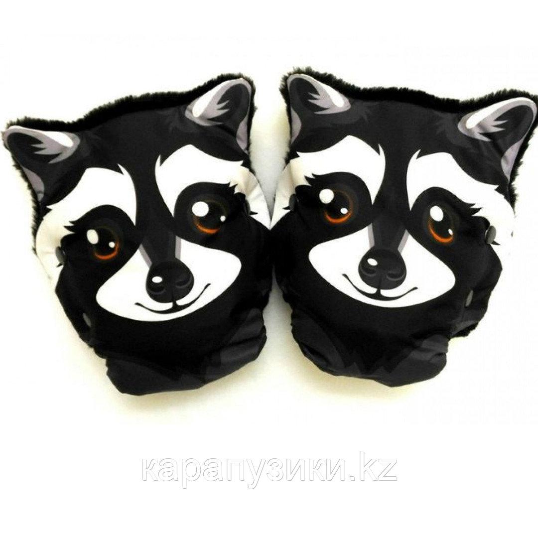 Муфты перчатки  для коляски еноты