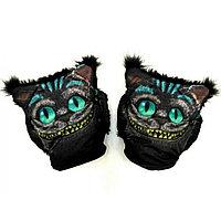 Муфты варежки для рук для коляски чеширский кот
