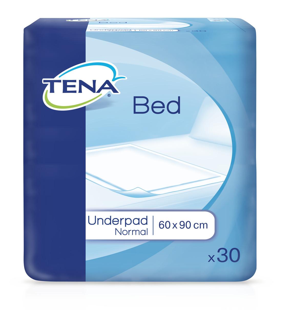 Пеленки впитывающие одноразовые Tena Bed Plus 60*90 30шт
