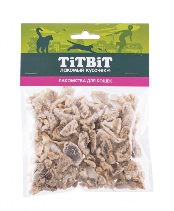 Лакомство для кошек Легкое говяжье TitBit