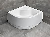 Глубокий поддон INDOS A с сиденьем, со съемной панелью SIA8080-01