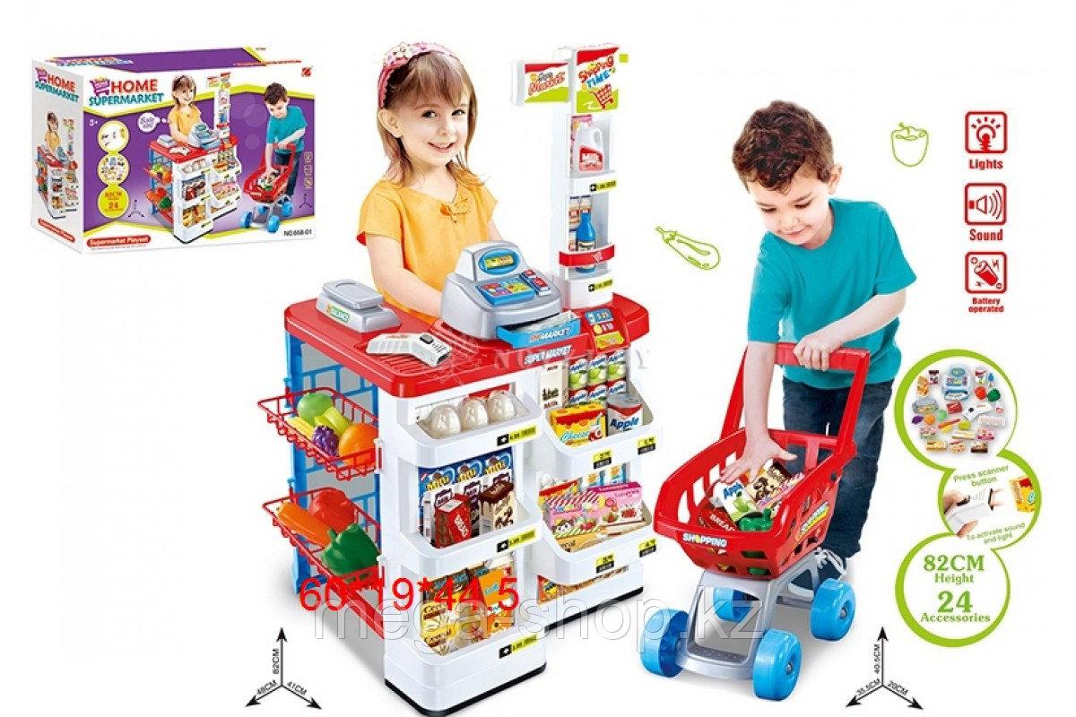 """Игровой набор """"Супермаркет"""" с тележкой"""