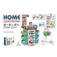 Игровой набор супермаркет с корзиной ( 47 предметов)