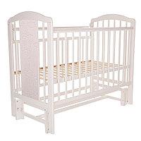 Кровать детская PITUSO NOLI ЖИРАФИК  маятник универсальный с накладкой Белый