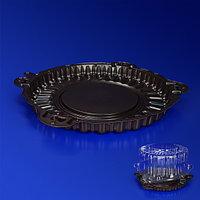 Kazakhstan Дно к упаковке для пирога и торта d23,6см внешн PET коричневое 192 шт/кор ПР-Т-55 ДШ ПЭТ