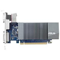 Видеокарты Asus ASUS GeForce GT 710 954Mhz PCI-E 2.0 1024Mb 5012Mhz 32 bit DVI HDMI HDCP GT710-SL-1GD5-BRK