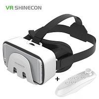 Очки-шлем виртуальной реальности VR SHINECON G3.0 3D (с bluetooth-джойстиком)