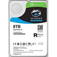 """Жесткий диск для видеонаблюдения с искусственным интеллектом 8Tb Seagate SkyHawk AI Survelilance SATA3 3.5"""""""