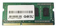 Оперативная память для ноутбука GEIL 8Gb DDR3 1333Mhz, GS38GB1333C9S