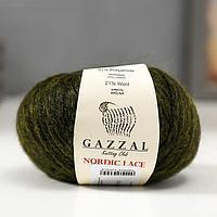 "Пряжа ""Nordic Lace"" 48% акрил, 31% полиамид, 21% шерсть 115м/50гр (5010)"