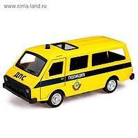 Автобус металлический «Спецслужбы», открываются двери, инерция, МИКС