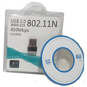 USB-Wi-Fi 450M Wireless N Mini Adapter