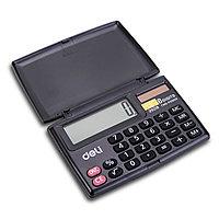Калькулятор карманный 8 разр. Deli 39218