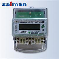 Однофазный однотарифный счетчик Орман СО-Э711 Т1 Д 220V 5(60)А на дин-рейке