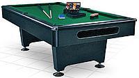 Бильярдный стол Eliminator 8 футов (черный) в комплекте, аксессуары + сукно
