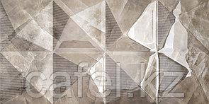 Кафель   Плитка настенная 30х60 Нормандия   Normandia темный рельеф