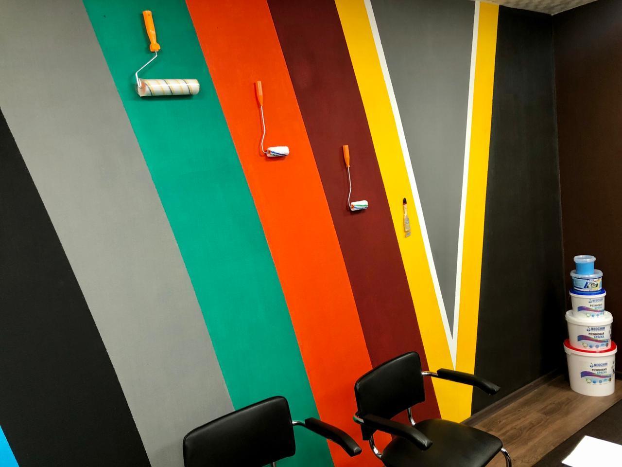 Художественная роспись стен и дизайн интерьеров.