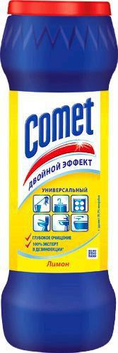 """Чистящий порошок универсальный Comet """"Лимон"""", 475 гр"""