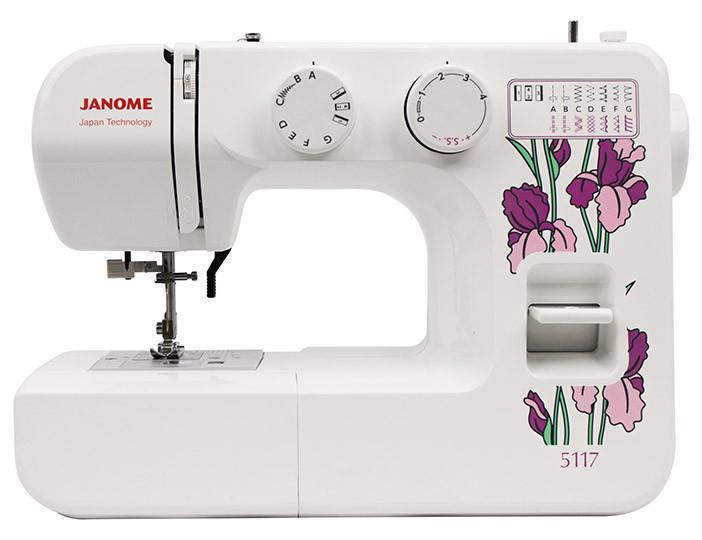 JANOME  5117 швейная машина