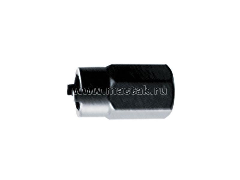 Головка торцевая с цапфами для гаек амортизаторных стоек, VAG, 22 мм МАСТАК 100-10145