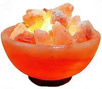 Соляная (солевая) лампа Ваза с камнями 3 - 5 кг