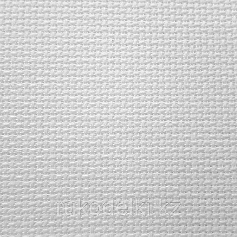 Канва Gamma К18 Аида белая шир. 50*75 см. 18 ct 70/10 кл.