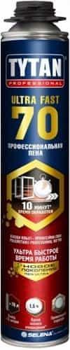 Монтажная пена профессиональная Tytan ULTRA FAST 70 870 мл
