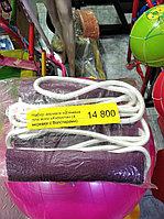 """Набор веревок настенных для занятия йогой """"Куранта"""" в комплекте 4 веревки с болстерами"""