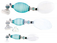"""Мешок дыхательный силиконовый типа """"Амбу"""" с двумя масками, многоразовый, автоклавируемый для взрослых КД-МП-В"""