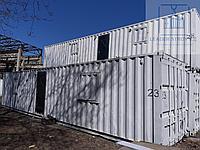 Жилой контейнер под склад хранение одежды из 40 футового контейнера, фото 1