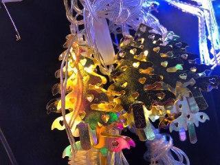 Новогодняя гирлянда елка
