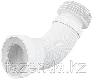 Гофра для унитаза D110мм, L230- 500 мм