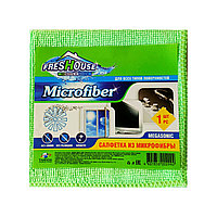 Салфетка из микрофибры FRESHOUSE MICROFIBER плотная , 1 шт