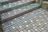 Лоток водоотводный PolyMax Basic DN100 H155 пластиковый, фото 3