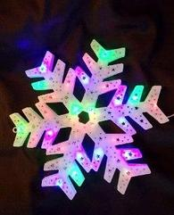Светодиодная Снежинка