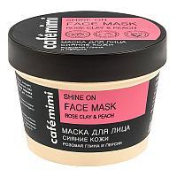 """Маска для лица Cafe MiMi """"Сияние кожи"""" розовая глина и персик"""