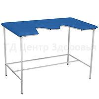 39 Стол ветеринарный универсальный для УЗИ и эхо процедур 1 Ветеринарный стол со столешницей, покрытой