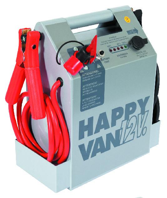 HAPPY VAN портативный бустер, пусковой ток 2500 А, 12 В, 26 А*ч
