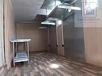 Утепленный контейнер под кухню из двух 40 футовых контейнеров, фото 1