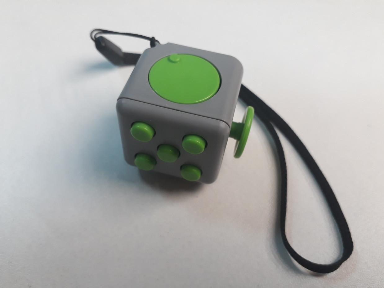 Фиджет куб. Fidget Cube. Кубик-антистресс. Оригинал.