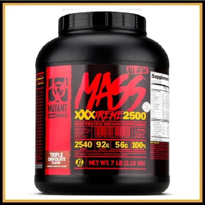 Mutant Mass XXXTREME 2500, 3.2кг (Ваниль)