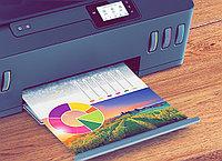 Цветная распечатка файлов на офисной бумаге формата А4 толщиной 80 мм