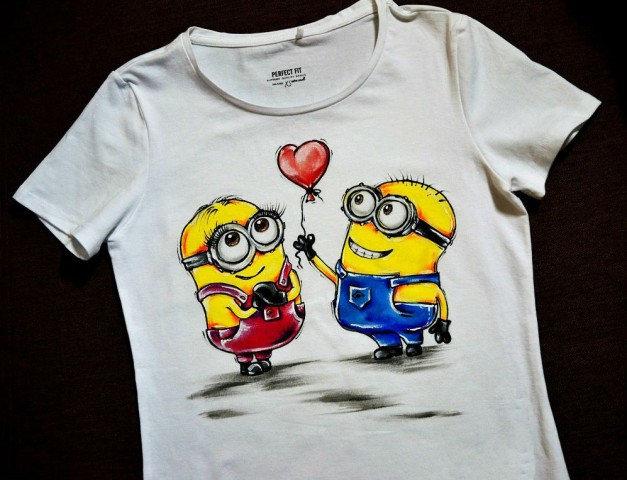 Нанесение детских рисунок на детские футболки и толстовки