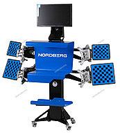 NORDBERG СТЕНД СХОД-РАЗВАЛ 3D модель C804-C четырехкамерный настенный