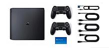 Консоль SONY PLAYSTATION 4 PS4 SLIM CONSOLE 2x Pad 500 ГБ, фото 3