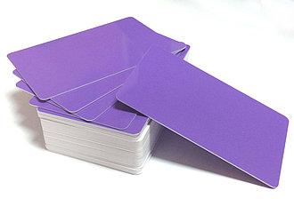 Карточки пластиковые с магнитной полосой