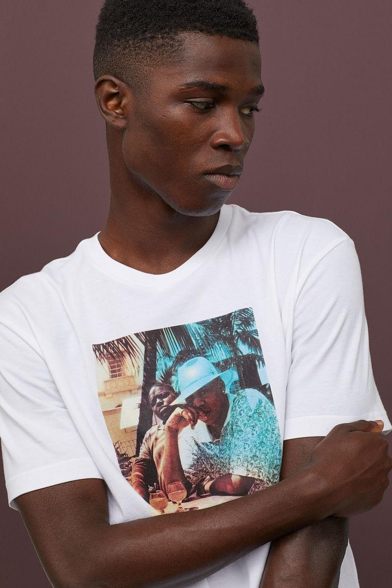 H&M Мужская футболка - Е2