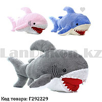 Мягкая игрушка монстр меховая Акула 88 см в ассортименте